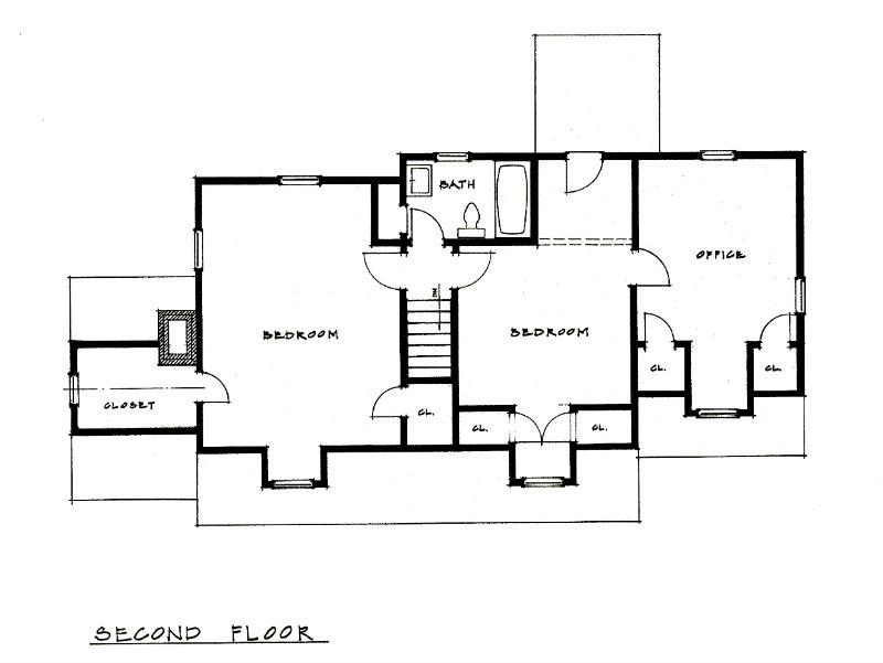 KC Bungalow Floor Plan 2 Richard Toyne Architect
